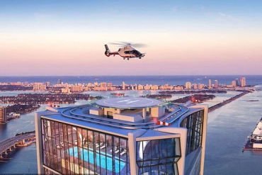 David Beckham Drops $20 Million on an Insane Miami Penthouse With Its Own Helipad
