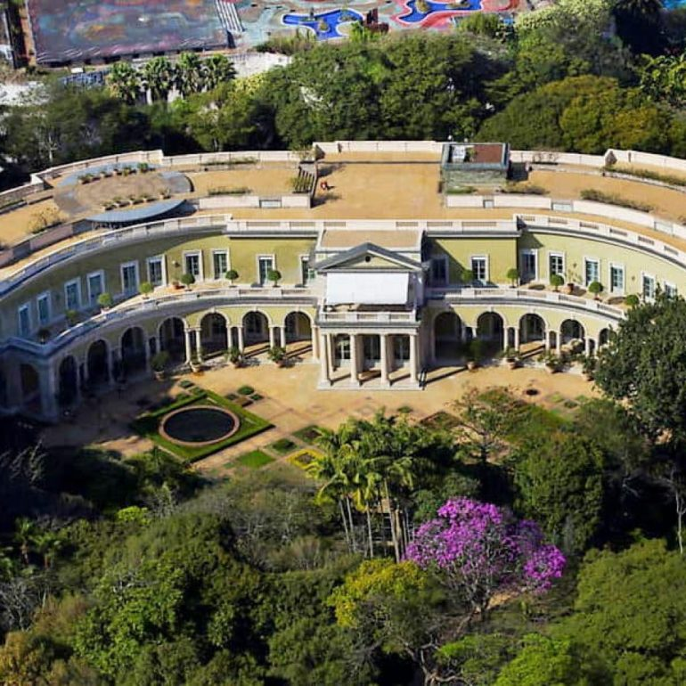 Safra Mansion – Sao Paulo, Brazil – 117,000 square feet