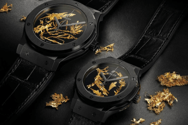 Hublot Classic Fusion Gold Crystal Boasts The Rarest Form of Gold