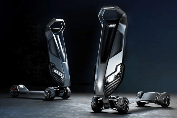 D-fly's Dragonfly is the World's First Luxury Hyperscooter