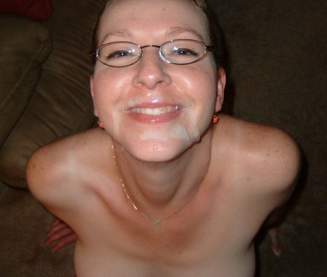 Another Treasure From Lonelywivesonline Com Heres A Hot Kinky Wife With A Faceful Of Cum She Certainly Doesnt Seem To Mind Either Id Even Say She