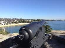Sydney Harbour defences