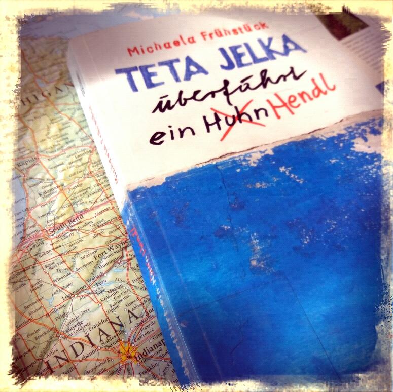 Teta Jelka überfährt ein Hendl
