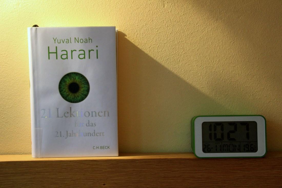 Yuval Noah Harari 21 Lektionen für das 21. Jahrhundert