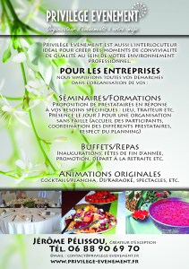 organisateur événements Provence