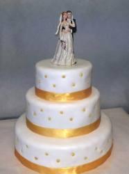 wedding cake - douceurs