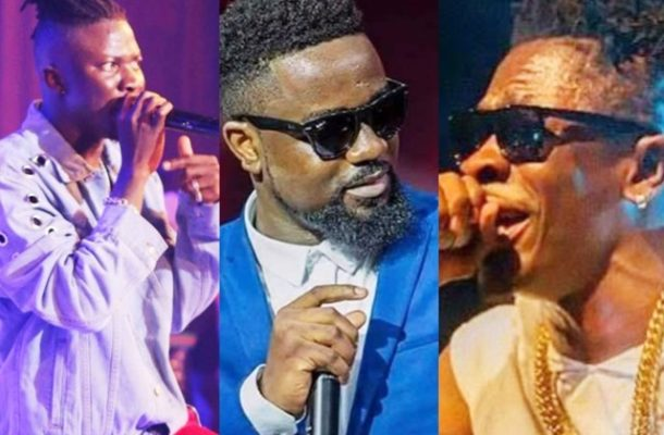 Shatta wale starts 2019 with new 'feud' with Sarkodie and Stonebwoy (hot!)