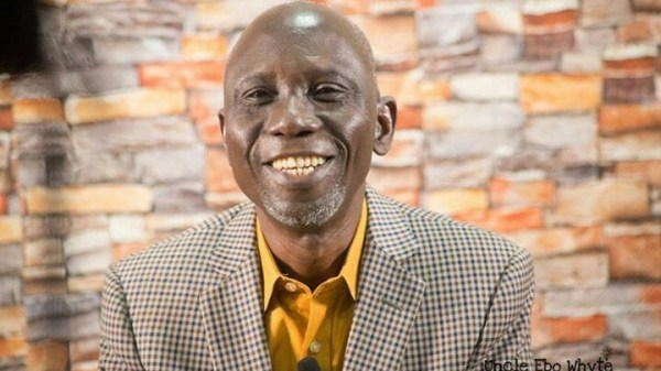 Ghanaian Renowned playwright Uncle Ebo Whyte reveals he once sold bread on the streets of Kumasi to survive.