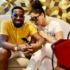 D'banj and wife Didi Lineo
