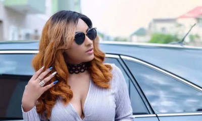 privilegeamoah.com chanced on a video circulating on social media which saw Actress Juliet Ibrahim portraying her awful dance moves to the world.