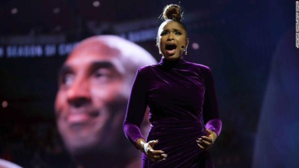 Jennifer Hudson delivers tribute to Kobe Bryant at 2020 NBA All-Star