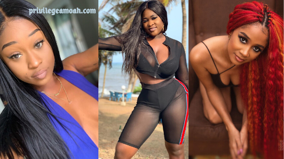 Photos of Sister Derby, Efia Odo and Sista Afia who slays best?