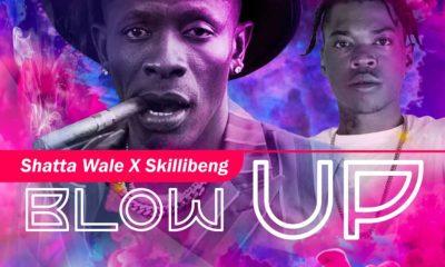 Shatta Wale's 'Blow up' with Skillibeng is 'much-International' dancehall