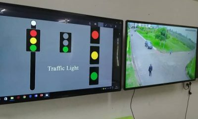 Koforidua Technical University Students Manufacture Traffic Light With Artificial Intelligence Cameras To Boost Security
