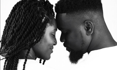 Sarkodie and wife use shea butter(privilegeamoah.com)