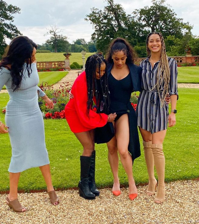 Stephanie Benson Shares Photos Of He Beautiful Daughters And Their 'Foreign' Boyfriends, Reveals Why They Snubbed Ghanaian Men