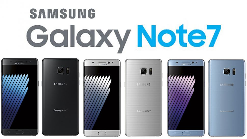 Samsung Galaxy Note 7 Colors 970 80