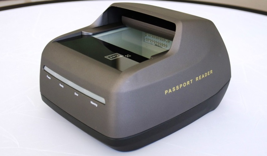 Airport Border Control EPassport Gates Reader