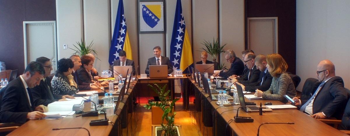 Održana 137. Sjednica Vijeća Ministara Bosne I Hercegovine