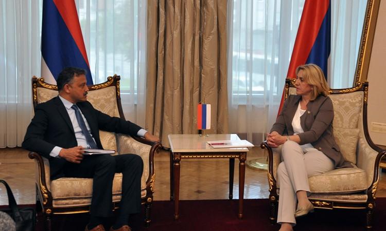 Cvijanović Razgovarala S Predstavnicima MMF-a