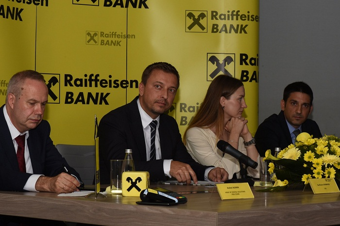 """VISA I Raiffeisen Banka Predstavile Novu Uslugu """"m-plati"""""""