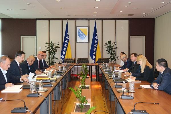 Ministar Bevanda Primio Novog šefa Misije MMF-a