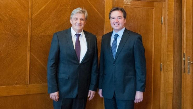 Novi šef Misije MMF-a U BiH Martin Petri Posjetio CBBiH