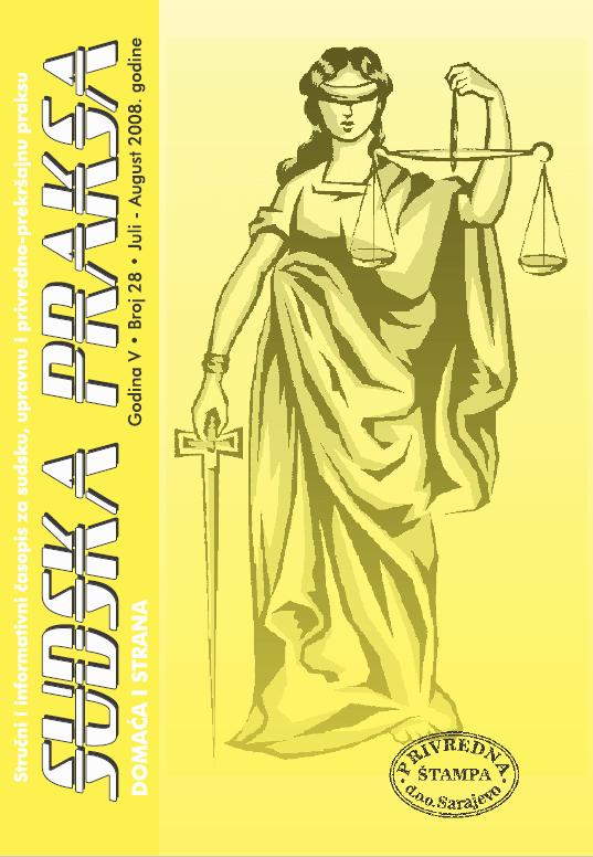 sudska praksa 28