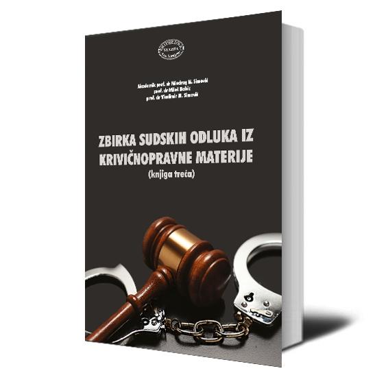 Zbirka Sudskih Odluka Iz Krivicnopravne Materije Web