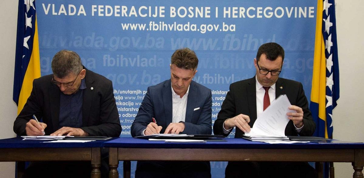 Potpisan Kolektivni Ugovor Za Djelatnost Rudarstva U Federaciji BiH