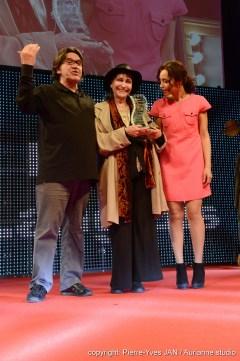 Jean-François Davy, Anna Karina & Aïda Touirhi