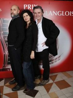 Pierre-Loup Rajot, Marina Tomé et Jerome Soubeyrand ©Denis Guignebourg