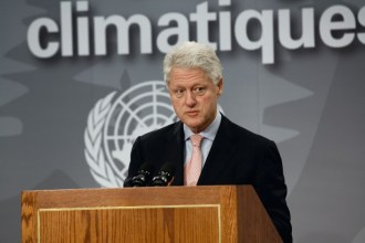 William J. Clinton, Former President, United States