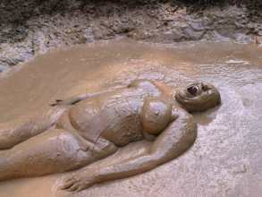 Rachel Mud Bathing, Virginia  2009