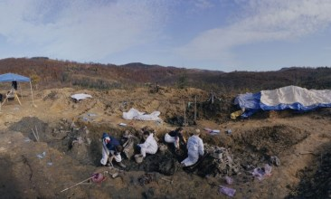 A Mass Grave Near Snagovo, Bosnia