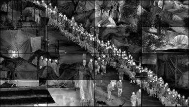 Prix Pictet Space _ Richard Mosse _ Moria Grid