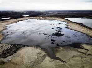 Alberta Oil Sands #2, Tailings