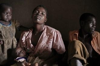 Emily, Alefa, Gloria Banda and Muyeso Makawa. Petros Village, Malawi, 2006