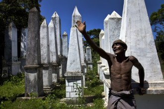 Rituals surrounding death, both of man and beast, remain an important part of the culture in southeast Madagascar. These burial grounds – once...