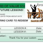 Gift Card of $10