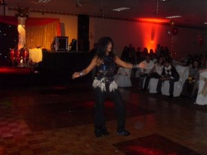 Priya dancing a solo item at Ashiana Global Mall ATL 2009