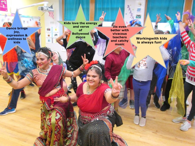 Bollywood dance in Wake County schools
