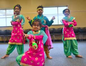 Kids Bollywood dance in Cary