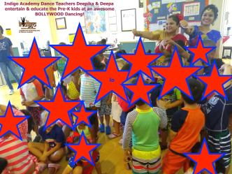 Bollywood dance in Preschool
