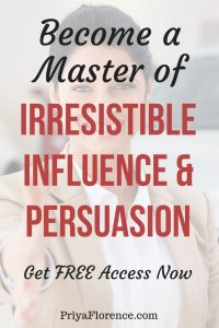 FREE Program - Irresistible Influence And Persuasion