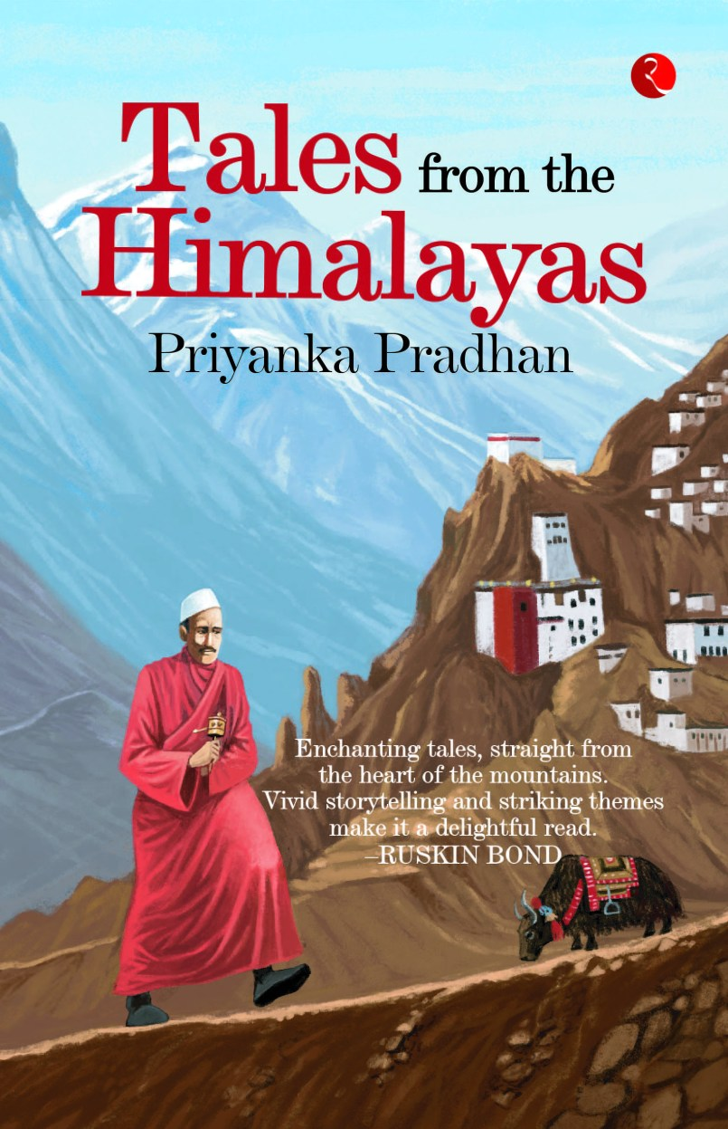 Front cover of tales from the Himalayas