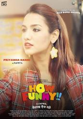 Priyanka Karki How Funny Movie Poster 1