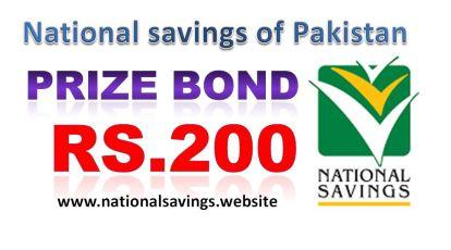 Rs 200 Prize bond Draw #74 Result List 15th June 2018 Held Muzaffarabad