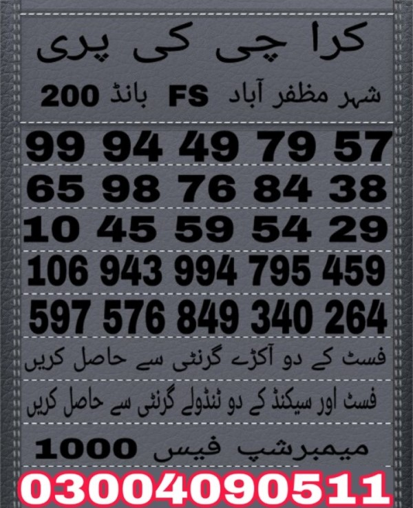 Karachi ki Pari Guess Papers