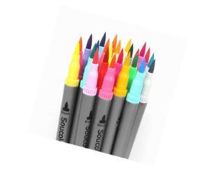 Soucolor 100 Colors Dual Tip Brush Pens Review